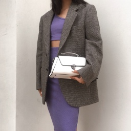 I Turned in Loungewear for a Purple Crop Top and Skirt Set – Here's What Happened